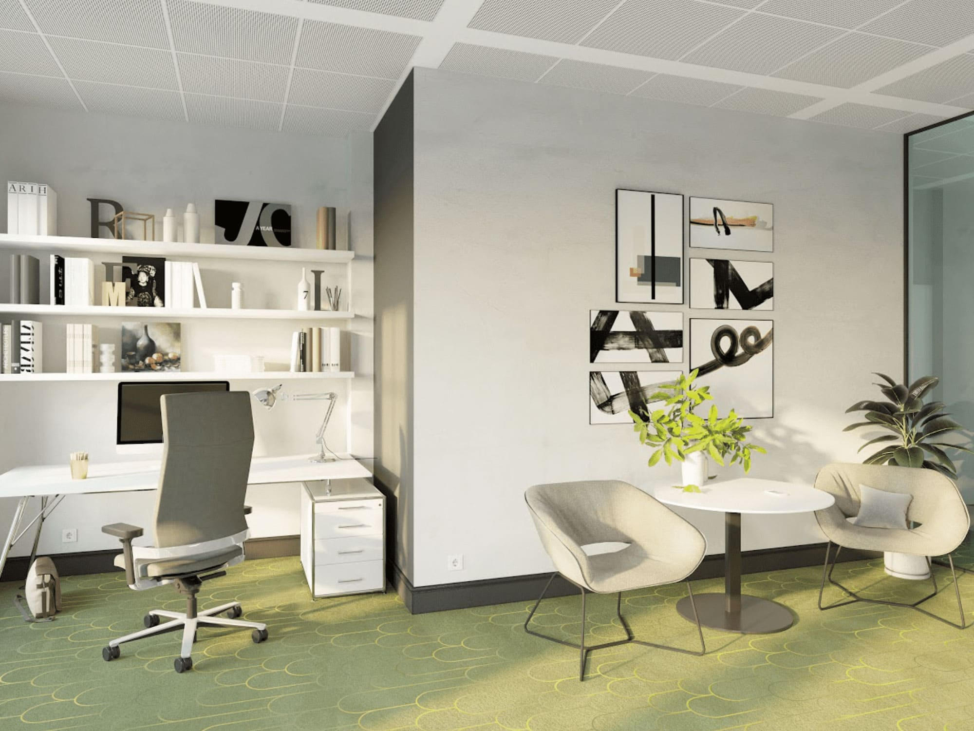 Grüner_Fußboden_im_Home-Office