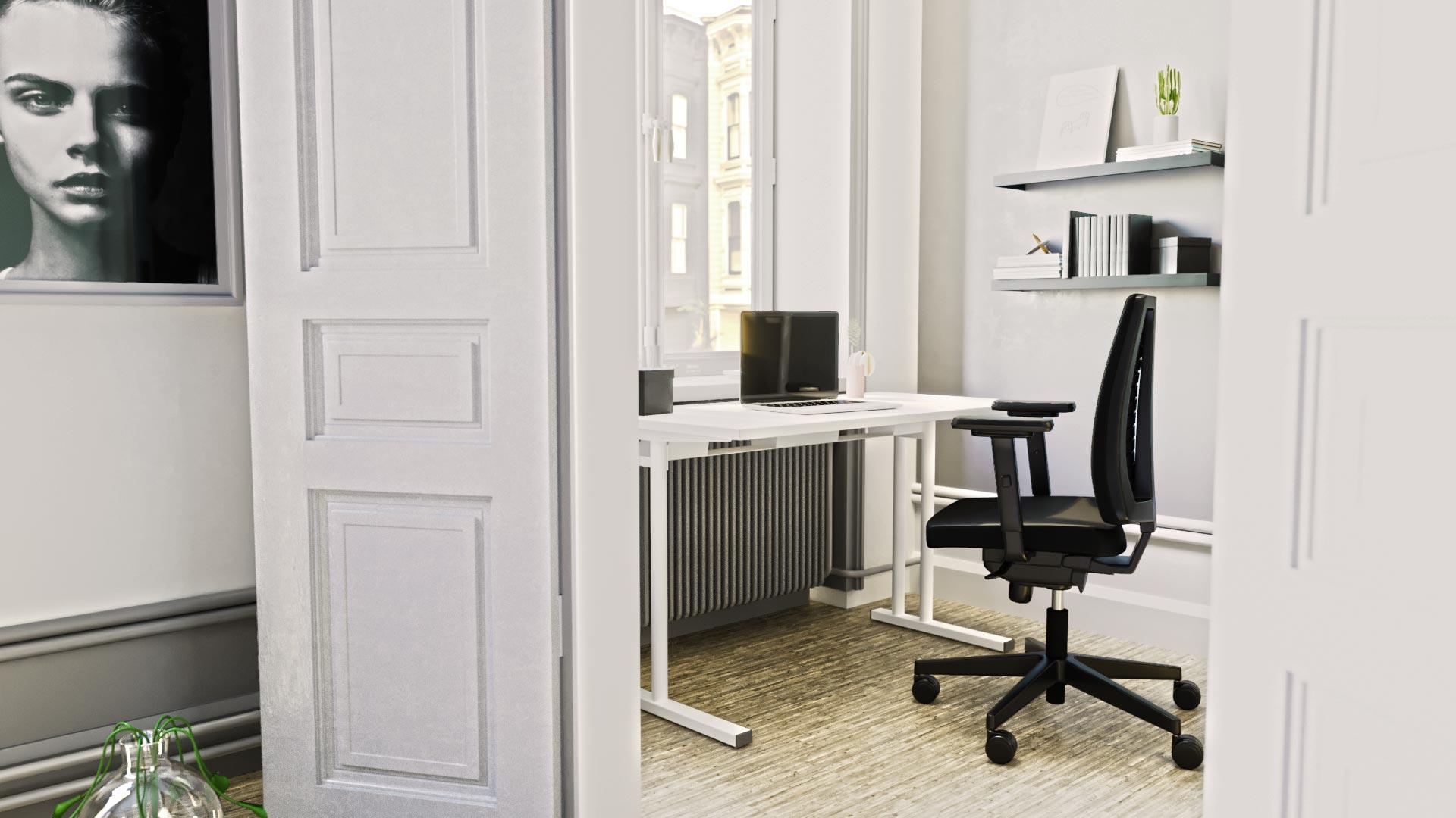 Home_Office_Einrichtung_weiß_schwarz
