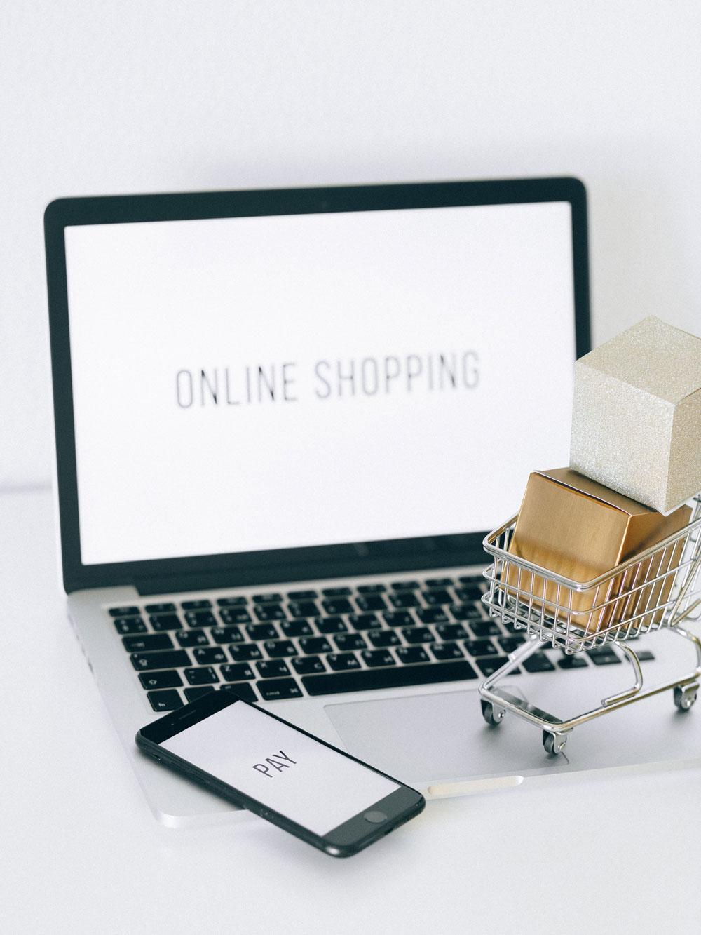 Onlineshopping_auf Laptop_und_Handy